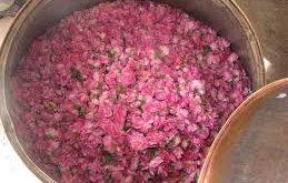 انواع گلاب عطری جشنواره میمند